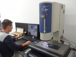 CNC measurement machine
