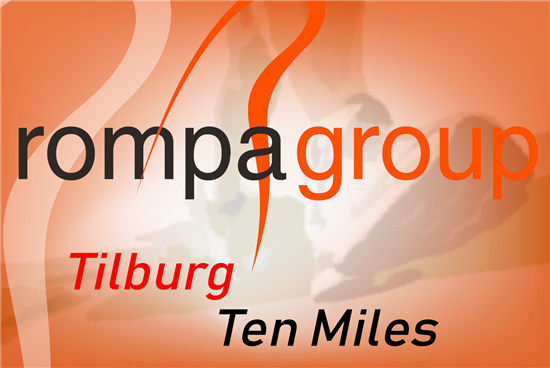 Rompa team's top sport performance during the Tilburg Ten Miles