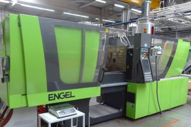 New Engel injection moulding machine